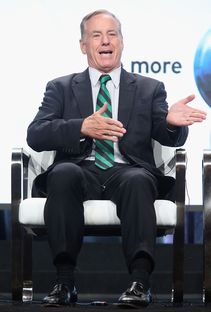 Howard Dean speaks onstage during the 'The Contenders: 16 for '16' panel discussion at the PBS portion of the 2016 Television Critics Association Summer Tour (Getty Images)