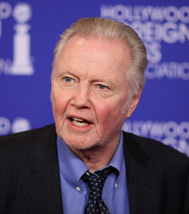 Jon Voight attends the The Hollywood Foreign Press Association (HFPA) Annual Grants Banquet, in Beverly Hills, California, on August 4, 2016