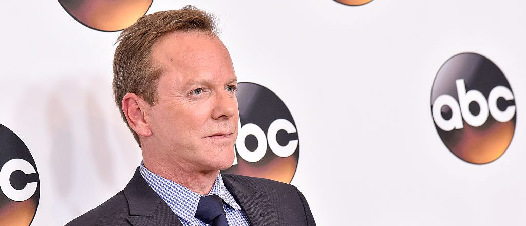 Actor Kiefer Sutherland attends the Disney ABC Television Group TCA Summer Press Tour on August 4, 2016 in Beverly Hills, California. (Photo by Mike Windle/Getty Images)