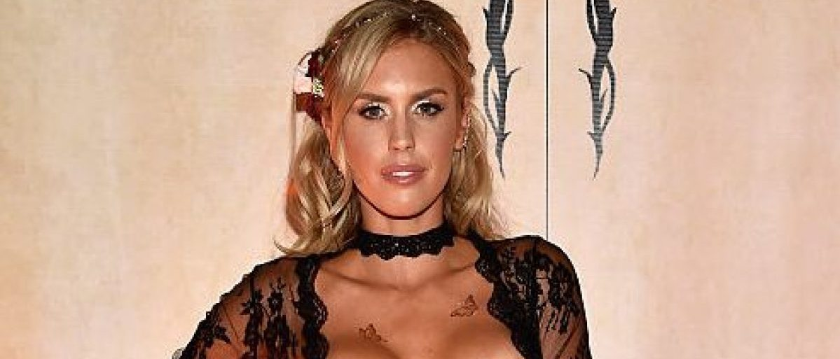 Playboy Playmate Kayla Rae Reid attends the Playboy Midsummer Night's Dream party at the Marquee Nightclub at The Cosmopolitan of Las Vegas on August 27, 2016 in Las Vegas