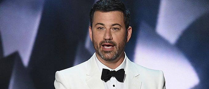 Host Jimmy Kimmel speaks onstage during the 68th Annual Primetime Emmy Awards at Microsoft Theater on September 18, 2016 in Los Angeles, California. (Photo by Kevin Winter/Getty Images)