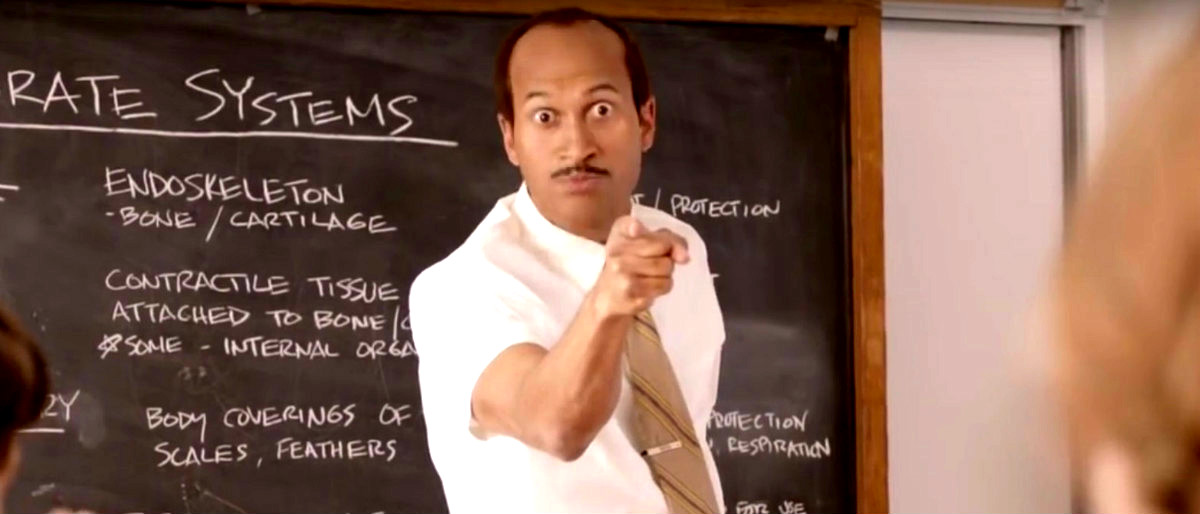 Key & Peele substitute teacher YouTube screenshot/Comedy Central