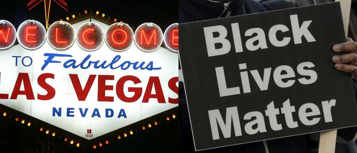 Las Vegas: Richard Brian/Reuters, Black Lives Matter: David Ryder/Reuters