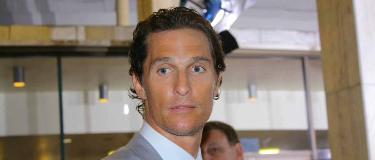 Matthew McConaughey Shutterstock/RoidRanger