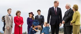 Prince George SHUTS DOWN Canada's Trudeau On High Five [VIDEO]