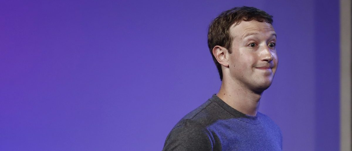 Mark Zuckerberg, founder and CEO of Facebook. REUTERS/Adnan Abidi/RTR49I8Q