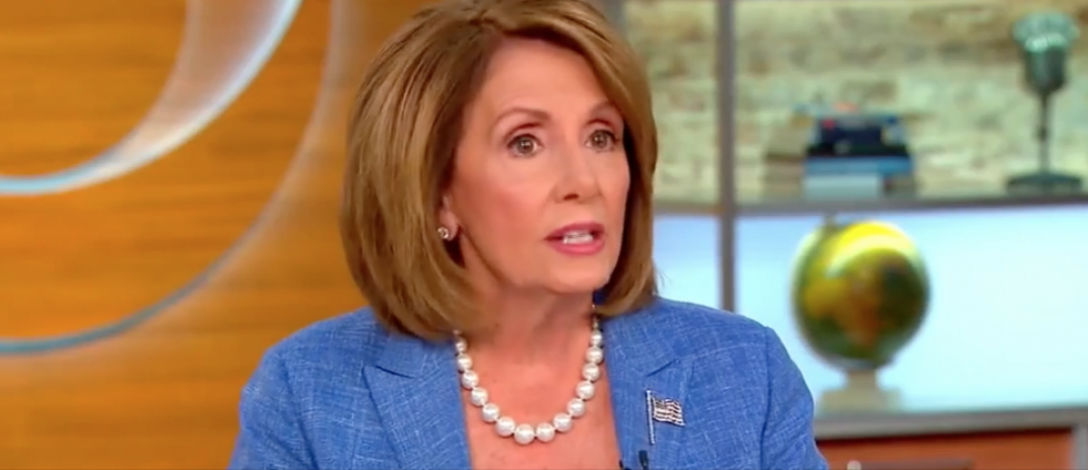 "California Rep. Nancy Pelosi discussed Clinton emails on ""CBS This Morning,"" Sept. 5, 2016. (YouTube screen grab)"