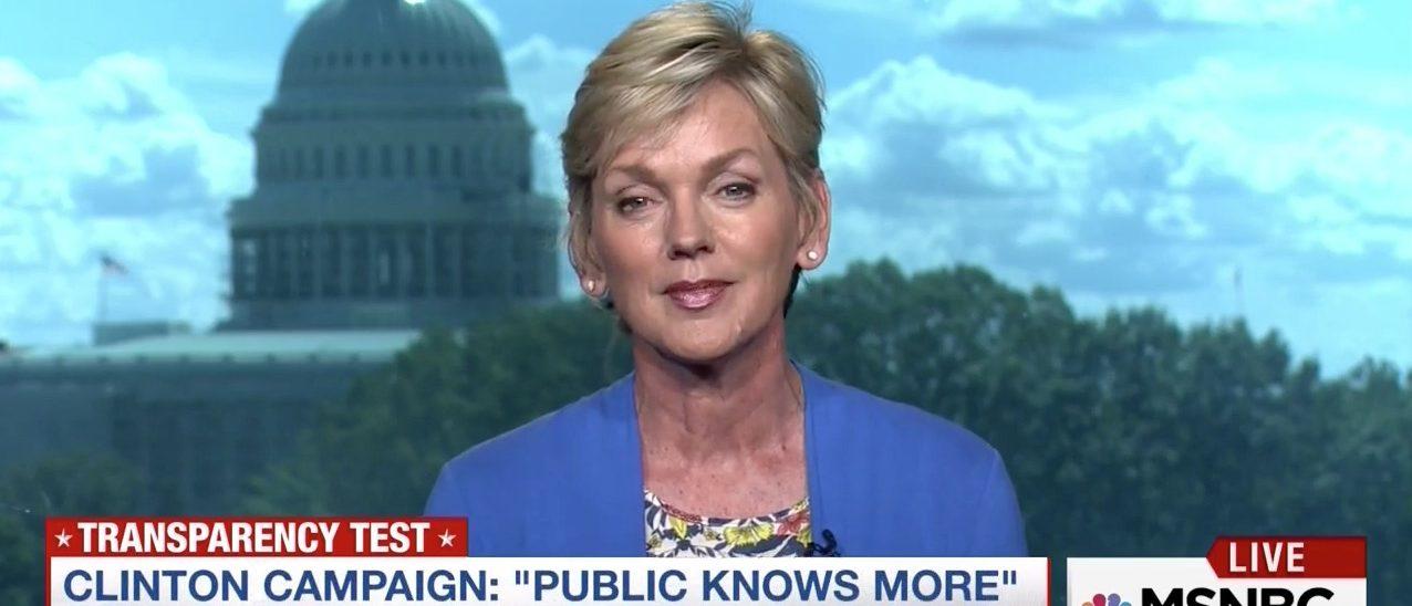 Jennifer Granholm (MSNBC)