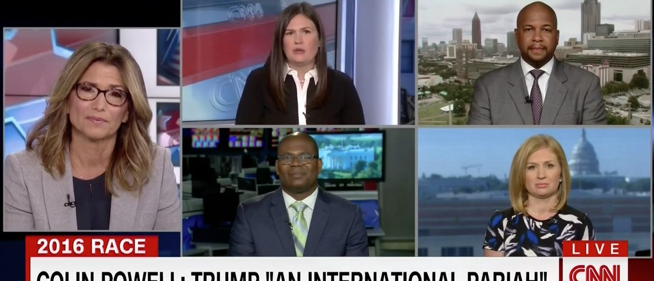 Carol Costello and Sarah Huckabee Sanders discuss birtherism (CNN)