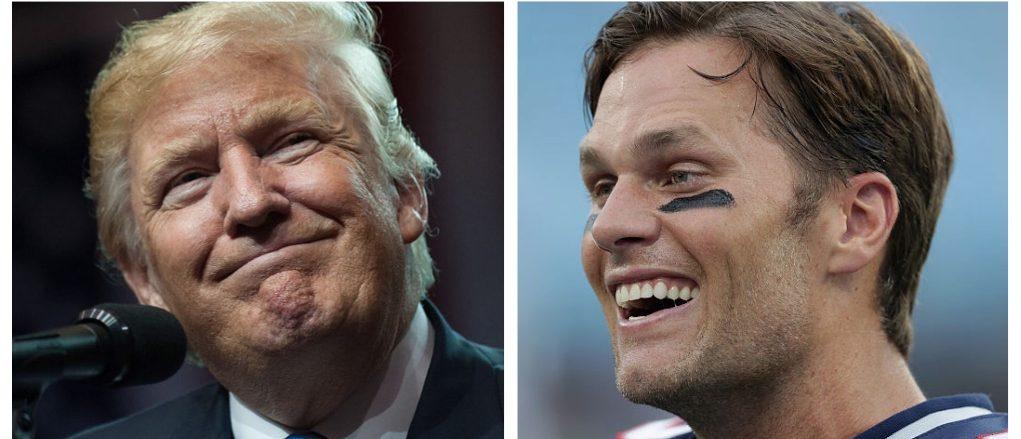 Donald Trump, Tom Brady (Getty Images)