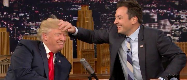 Donald Trump and Jimmy Fallon (Photo: YouTube screengrab)