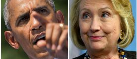 Hillary Rallygoers Yell 'No!' When Told Obamas Have To Leave White House