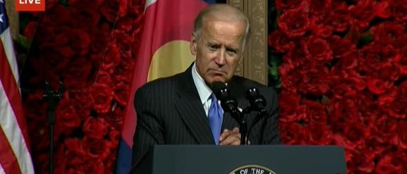 Joe Biden speaks at University of Denver (YouTube)