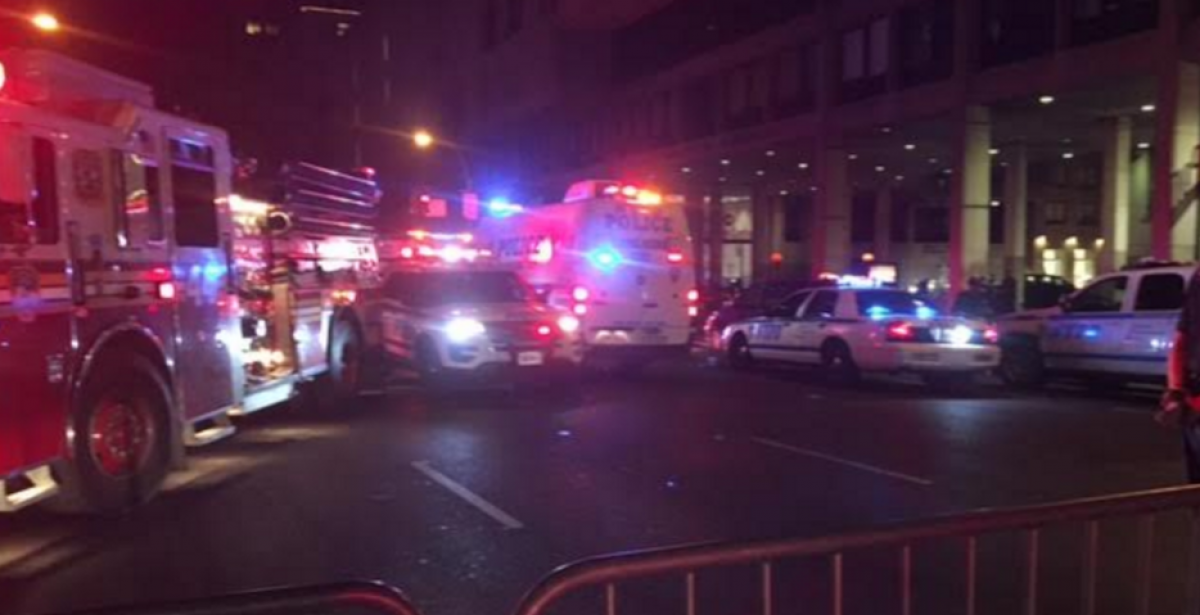NYPD on scene after second suspicious device found (Daily Caller/Kerry Picket)