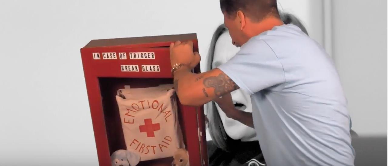 Emotional first aid (youtube screenshot/veritasvisuals)