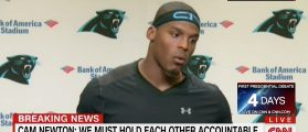 Cam Newton Breaks Silence On Charlotte Shootings — Rioters Are 'Hypocrites' [VIDEO]
