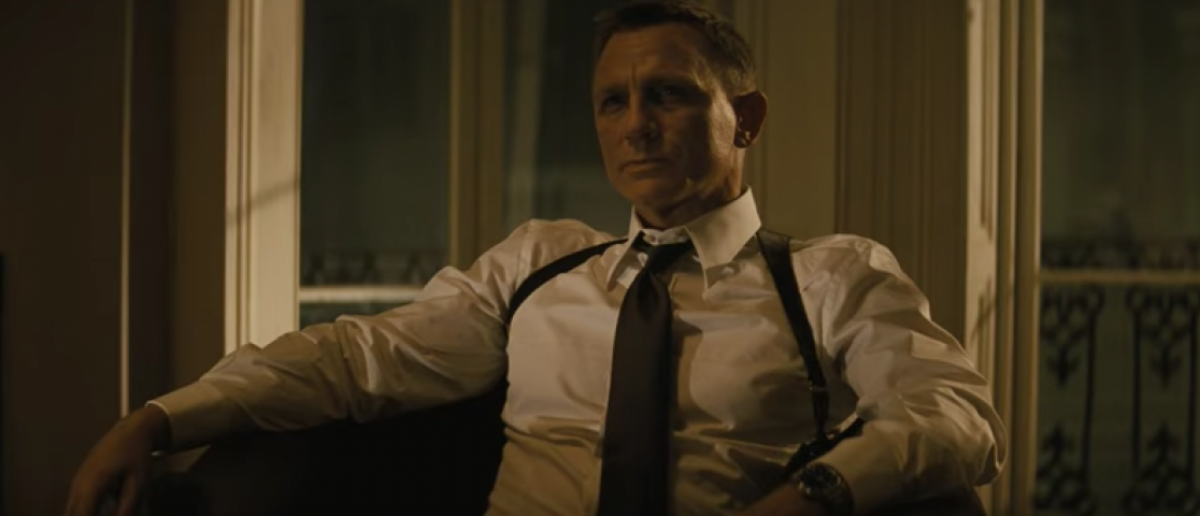 The British government pays for James Bond to wear an Omega Seamaster (YouTube screenshot)