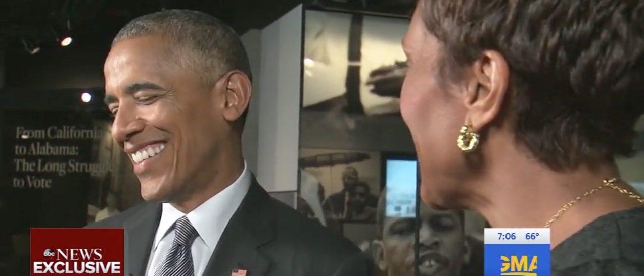 Barack Obama, Robin Roberts (ABC)