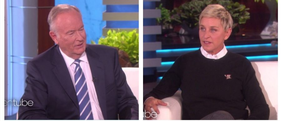 Bill O'Reilly, Ellen DeGeneres (NBC)