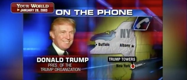 Donald Trump's 2003 interview on Cavuto (Fox Business)