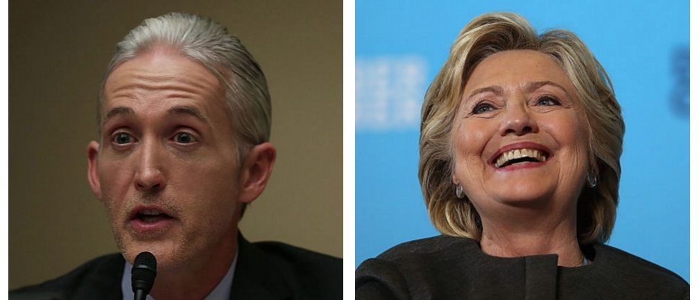 Trey Gowdy, Hillary Clinton (Getty Images)