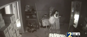 Georgia Woman Shot Burglars In EPIC Home Video