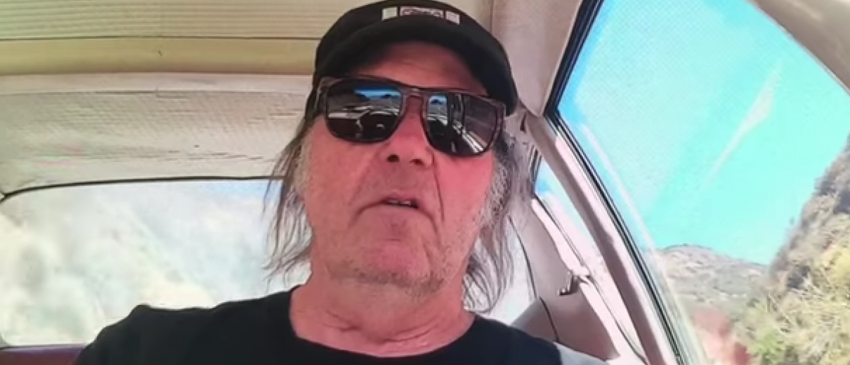 Singer Neil Young sings in music video about the Dakota Access Pipeline (YouTube/Screen shot)