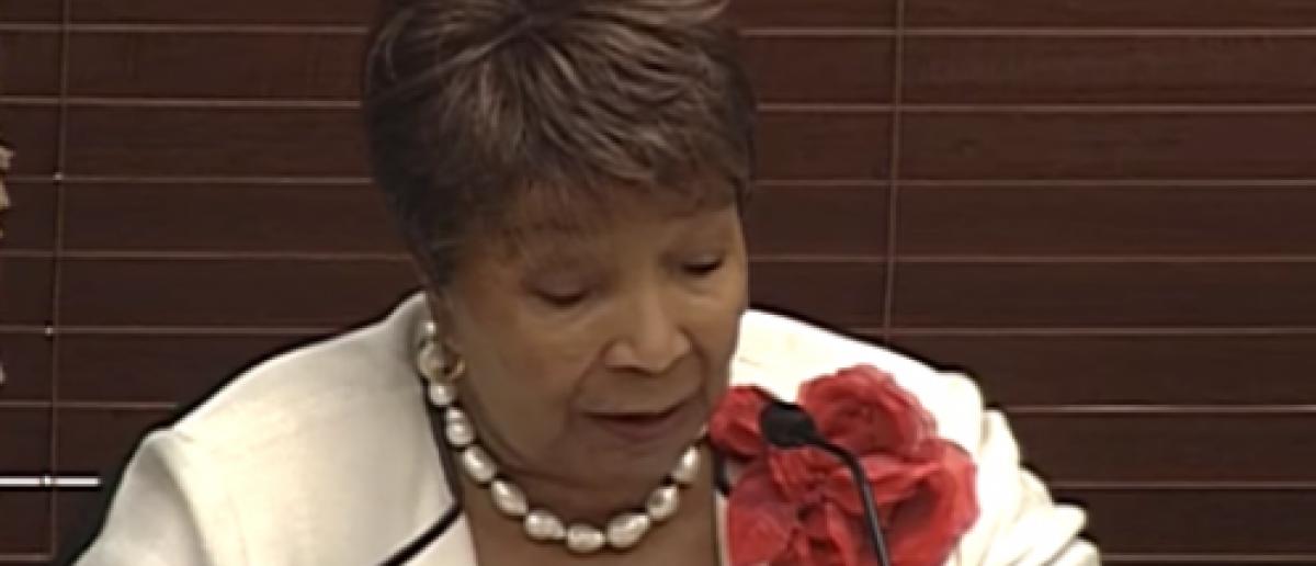 Rep. Johnson at a June 22nd hearing. (Screenshot/Youtube)