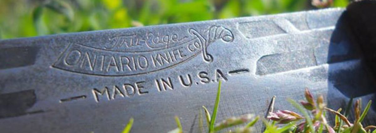 This American knife brand currently has a deal on knives (Photo via Ontario Knife Company)