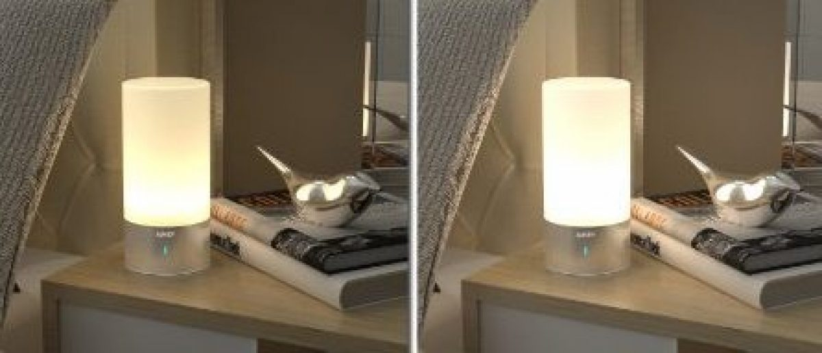 These are two brightness settings available for this lamp (Photo via Amazon)