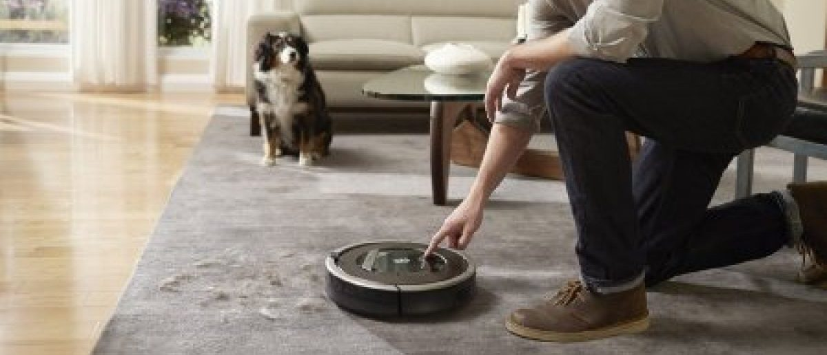 The robotic vacuum cleaner called Roomba (Photo via Amazon)