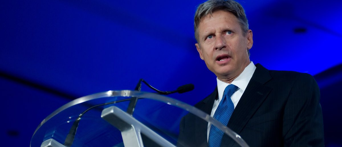 Presidential candidate Gary Johnson addresses the Republican Leadership Conference on June 16, 2011 at the Hilton Riverside New Orleans in New Orleans, LA. Image ID:79412584 Copyright: Christopher Halloran (Shutterstock/Christopher Halloran)