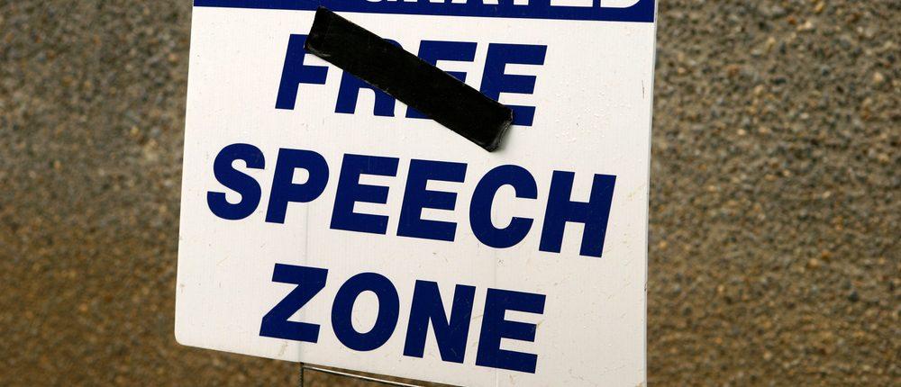 Speech Zone Harry H Marsh/ SHUTTERSTOCK