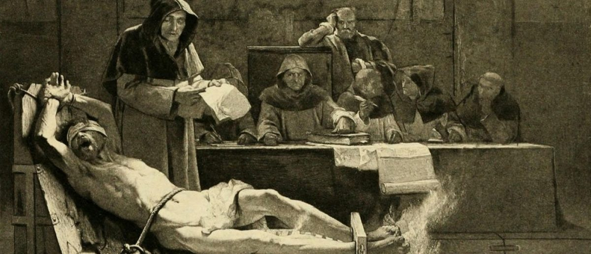 Torture by the Inquisition. [Shutterstock/Everett Historical]