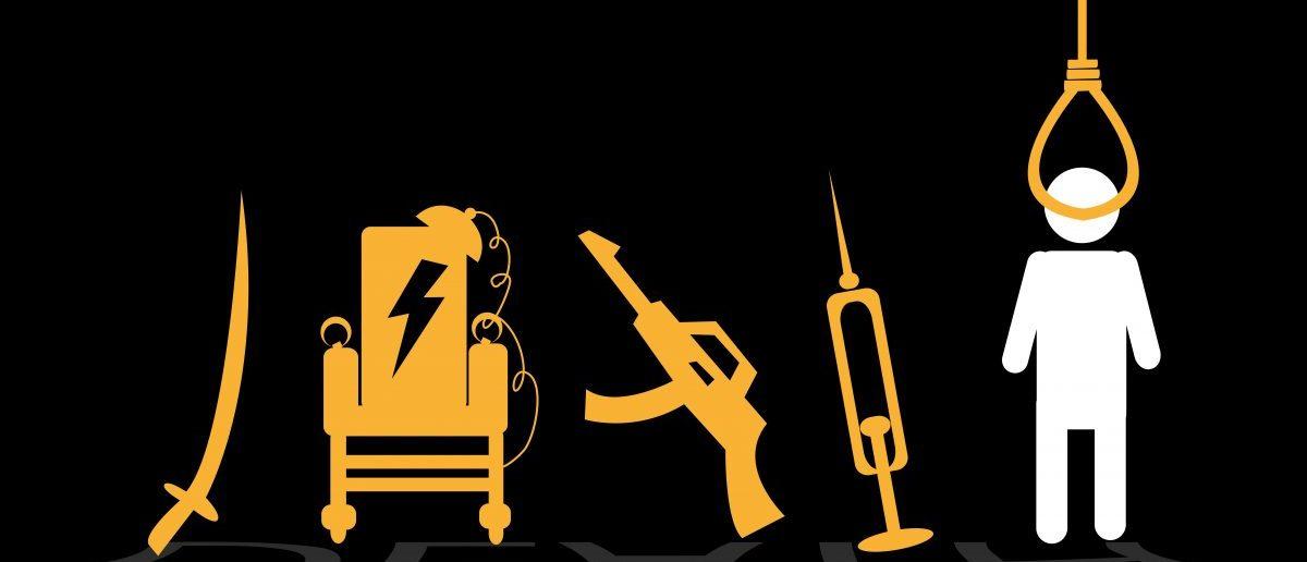 The death penalty. [Shutterstock/Crystal Eye Studio]