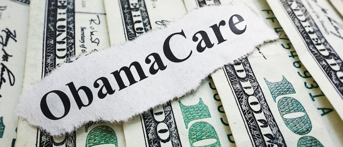 Obamacare costs Photo: Shutterstock/ zimmytws