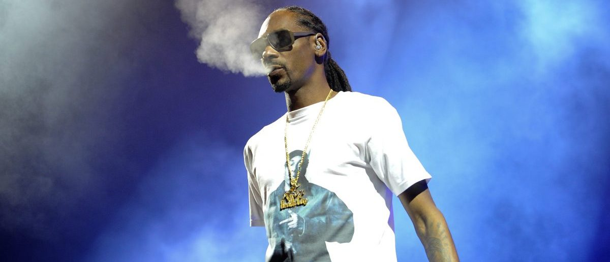 Snoop Dogg performs during the High Road Tour 2016 concert in Austin, Texas. (Splash News)