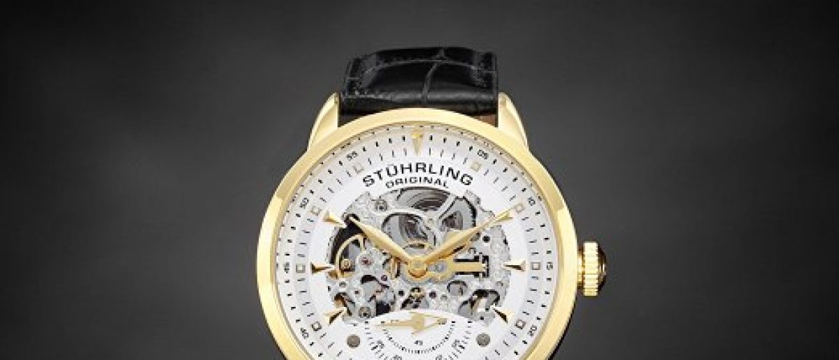This Stührling watch is 83 percent off (Photo via Amazon)