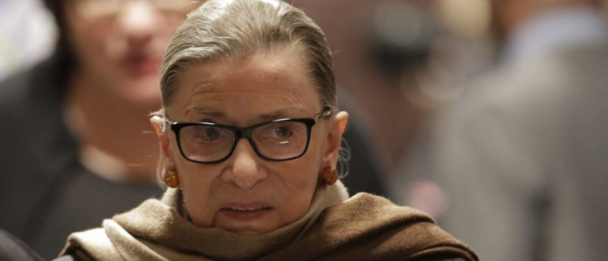 U.S. Supreme Court Associate Justice Ruth Bader Ginsburg arrives to watch U.S. President Barack Obama's State of the Union address to a joint session of Congress in Washington, January 12, 2016. REUTERS/Joshua Roberts/File photo