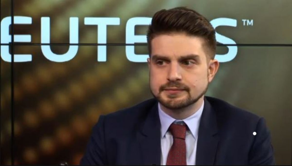 Alexander Soros in a 2014 interview with Reuters Screenshot/Reuters