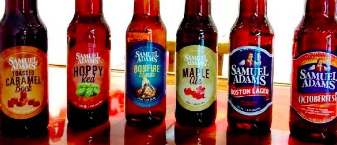 Samuel Adams Fall Beer Selection. Robert Donachie/Daily Caller News Foundation
