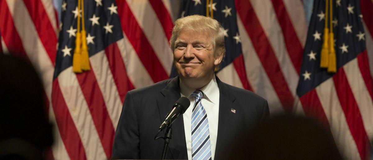 Donald Trump: lev radin/shutterstock