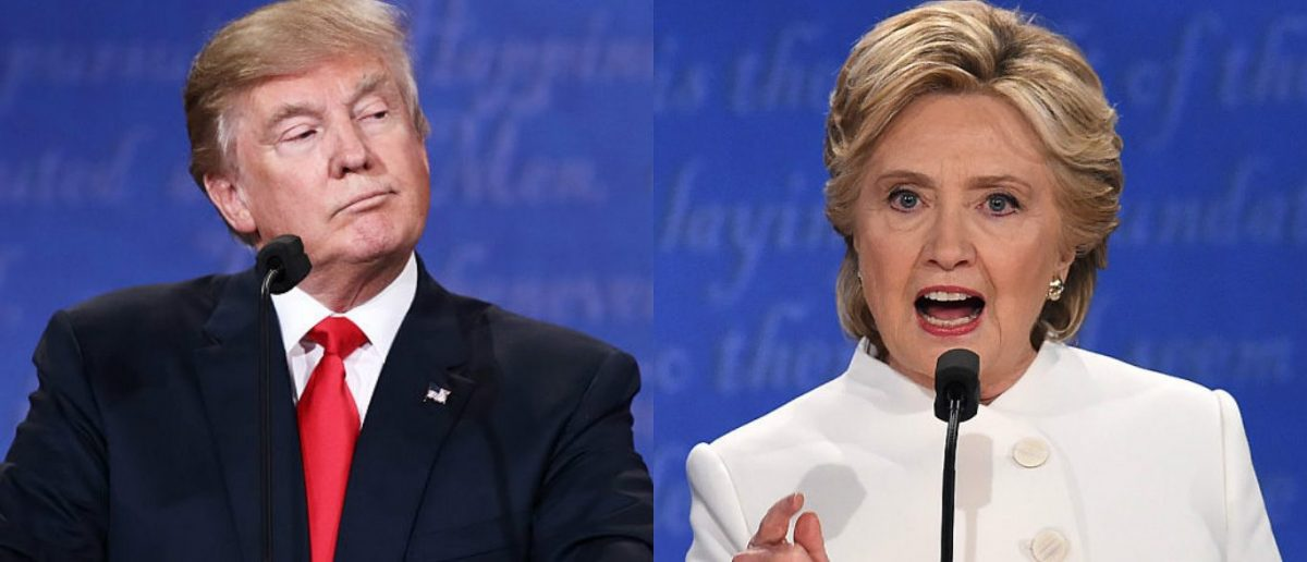 Donald Trump, Hillary Clinton (Photos: Getty Images)