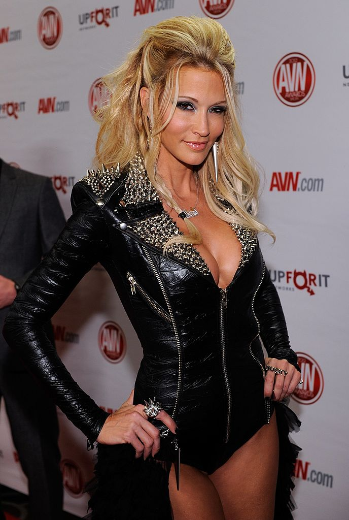 Adult film actress jessica drake arrives at the 29th annual Adult Video News Awards in Las Vegas, Nevada. (Photo by Ethan Miller/Getty Images)