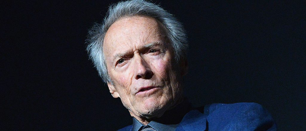 """NEW YORK, NY - APRIL 27: Actor/director Clint Eastwood attends the """"Tribeca Talks - Directors Series: Clint Eastwood"""" during the 2013 Tribeca Film Festival on April 27, 2013 in New York City. (Photo by Slaven Vlasic/Getty Images)"""