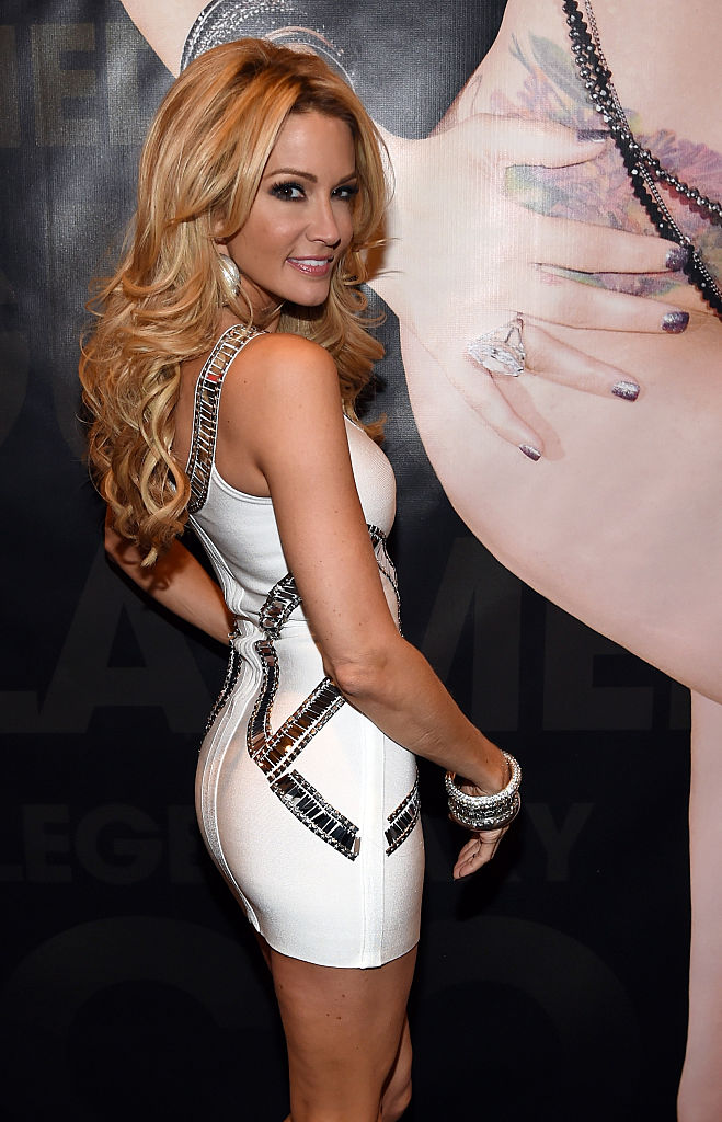 Adult film actress/director jessica drake poses at the Wicked Pictures booth at the 2015 AVN Adult Entertainment Expo in Las Vegas, Nevada. (Photo by Ethan Miller/Getty Images)