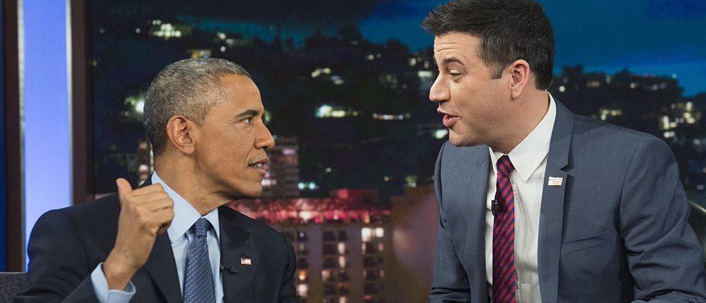 Barack Obama And Jimmy Kimmel
