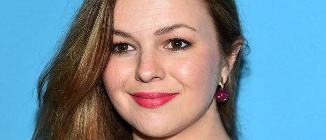 "NEW YORK, NY - MAY 28: Amber Tamblyn attends ""An Act Of God"" Broadway Opening Night on May 28, 2015 in New York City. (Photo by Ilya S. Savenok/Getty Images)"