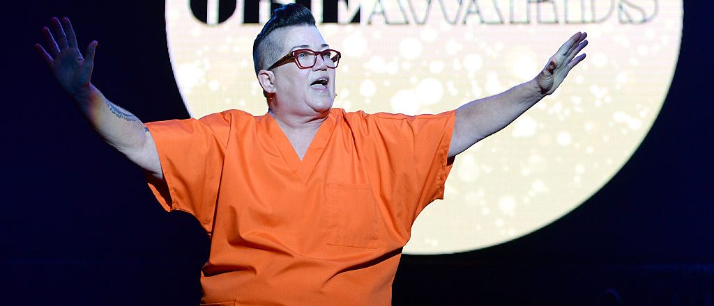 Lea DeLaria speaks onstage at the 61st Annual Obie Awards at Webster Hall on May 23, 2016 in New York City