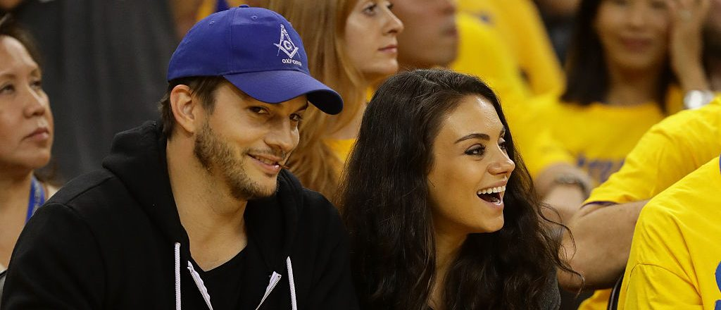 Kutcher and Kunis are expecting a baby boy. (Photo by Ezra Shaw/Getty Images)
